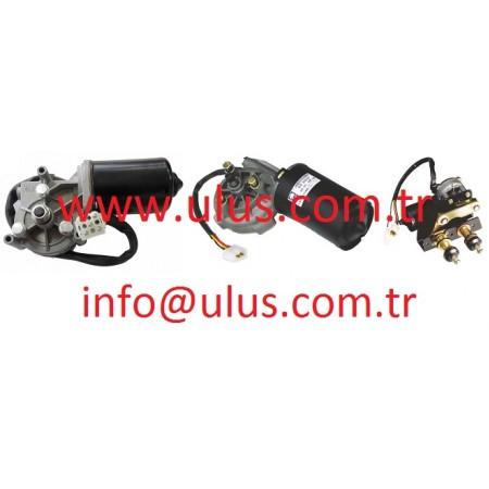 08180-12410 Wiper Motor KOMATSU Cam Silecek Motoru