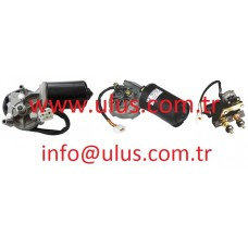 08180-12411 Wiper Motor KOMATSU Cam Silecek Motoru