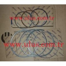 6128-31-2060 Piston Ring KOMATSU S6D155 Motor Segmanı