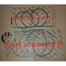 6128-31-2070 Piston Ring KOMATSU S6D155 Motor Segmanı