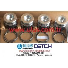 314-9962 Piston Ring Set CATERPILLAR Engine C3.4 CAT Motor Segmanı
