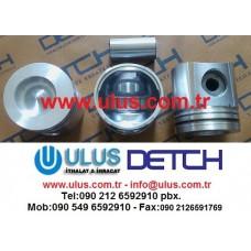 3802657 Kit Piston Cummins Engine 6CT8.3 Motor Pistonu