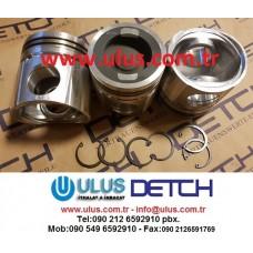 3942667 Piston Kit CUMMINS QSB5.9 Motor Hyundai 290LC-7 Motor Pistonu 3942667