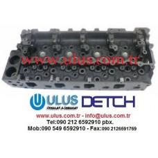 8-97146-520-2 Silindir kapağı 4HG1 ISUZU Engine cylinder head 8-97146520-2, 8-97146-5202