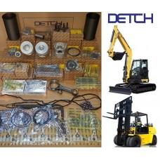 TCM FD100-4H Forklift  4HK1 ISUZU Motor Yedek Parçaları