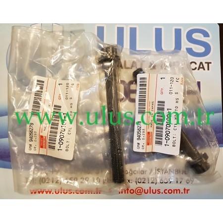 1-09070100-1 Silindir kapak Civatası motor ISUZU 6BG1 Bolt Cylinder head