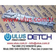 1-12810028-1 Motor Yağ Soğutucu Kapağı 6BG1 ISUZU Oil Cooller Radiator Cover