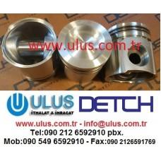 6742-01-5309 Snap Ring, Piston Pim Segmanı SAA6D114E Komatsu Motor