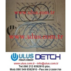 34317-07010 Piston Ring Engine MITSUBISHI S6KT Motor Segmanı