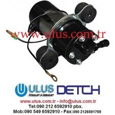 40901-00080 Mazot pompası 12v MITSUBISHI L2E L3E Volvo EC20B