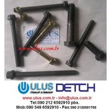 01435-01060 Eksoz Manifold Civatası S6D108 KOMATSU Motor