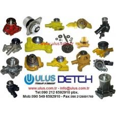 1-13650016-0 Devirdaim Su Pompası Motor 6BG1 ISUZU Engine Water Pump 1136500160