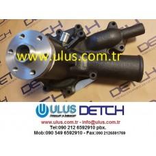 1136501333 Water Pump Engine 6HK1 ISUZU Devirdaim Su Pompası