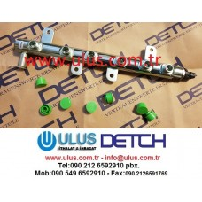 3978448 Manifold Fuel Engine CUMMINS QSB6.7 Motor Enjektör Rail Borusu