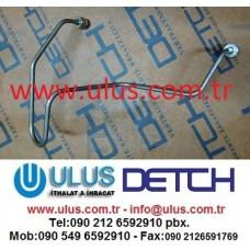6221-71-5111 Tube Injection Engine SA6D108 KOMATSU Motor Enjektör Borusu