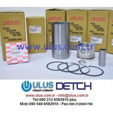 1-11261382-0 Motor Gömleği 6BG1 ISUZU Engine Liner 1112613820, 111261-3820