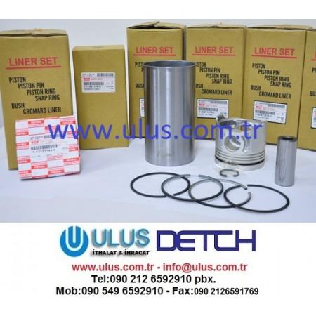 1112613820 Motor Gömleği 6BG1 ISUZU Engine Liner 1-11261382-0, 111261-3820