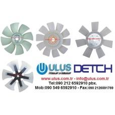 1-13660332-1 Fan Pervanesi Radyatör Soğutma 6HK1 ISUZU Motor