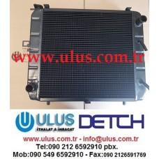 3EB-04-31550 Su Soğutma Radyatörü FD30 KOMATSU Forklift Radiator