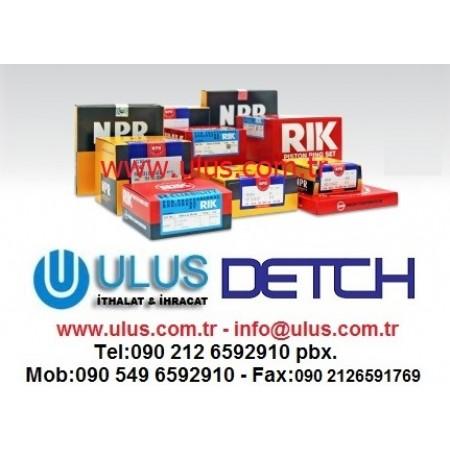 112121-1460 Piston Ring Set 6BG1 ISUZU Motor Segmanı 1-12121146-0, 1121211460