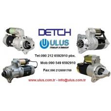 1-81100-401-3 Marş Dinamosu NIKKO 24v 4,5Kw JCB220 ISUZU 6BG1 Motor 0-24000-3261