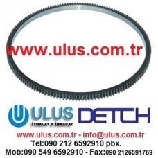 6150-31-1341 Volant Dişlisi SAA6D125E Motor KOMATSU 6150-31-1341 Gear Ring Flywheel