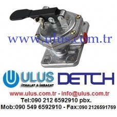6251-71-8210 Mazot el pompası Motor SAA6D125E KOMATSU Engine Pump Fuel Feed