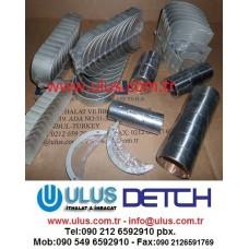 9-12271608-0 Kol Yatak 6BG1 Motor ISUZU Connecting Rod Bearing 9122716080, 912271-6080