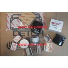 YM129792-22400 Piston Pim Segmanı, Circlip 3TNE82A YANMAR Motor, Engine Parts
