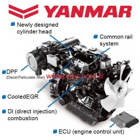 HYUNDAI R60CR-9 Mini excavator 4TNV98 YANMAR Engine Parts