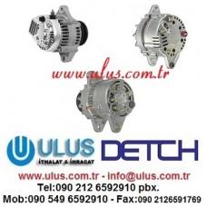 YM119836-77200 Alternator Şarj Dinamosu 40A 4D94E YANMAR Motor
