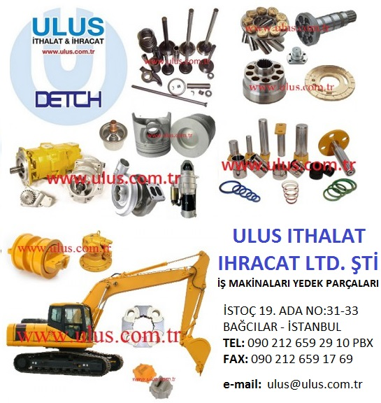 HIDROMEK PARTS - Hydraulic pump and Parts - Engine Parts - Undercarriage Parts - Swing Parts- Electric Parts